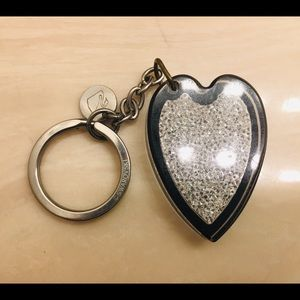Swarovski key ring a month old come with gift